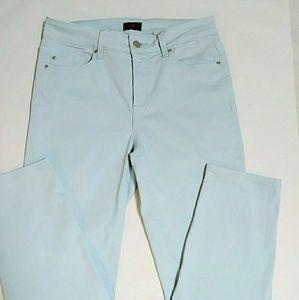 NYDJ Ocean Mist (Lt Blue) Skinny Ankle Lift Tuck